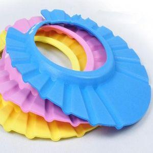 Baby Shampoo Cap misura adattabile Doccia Cap sicuro e inodore di sicurezza Shampoo protezione del bambino Prodotti per la cura più spesse modelle baby speciali