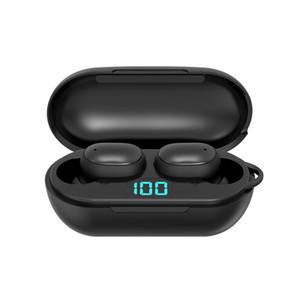 H6 Wireless Headphones Bluetooth 5.0 Earphone TWS HIFI Mini In-ear Sports Running Headset Support iOS Android Phones HD Call