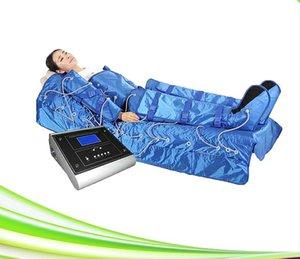 전문 Pressotherapy 공기 압력 림프 배수 기계와 담요, 먼 적외선 Pressotherapy 해독 마사지 EMS 살롱 용