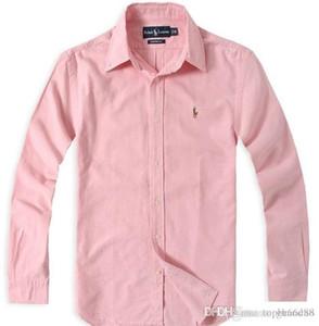 camicia in cotone a maniche lunghe da uomo autunno inverno 1and medusa e casual camicia da uomo casual colore solido camicia Oxford moda crusca