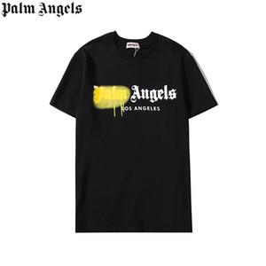 2020Palmaángeles diseñadors hombres del verano del resorte de las mujeres camiseta 100% algodón camiseta Luxurious camisa de los hombres camisa de la mujer 006 impreso