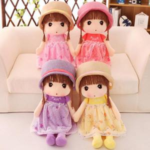 Nuevos juguetes de peluche Cute Princess Dolls Stuffed Animals Little Girl Niño regalo de cumpleaños juguetes de peluche al por mayor