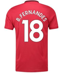 21 James 10 Rashford 18 B.FERNANDES 39 McTominay fútbol jerseys personalizados Su 2020 Top Thai calidad hechos a medida personalizada Equipo jerseys