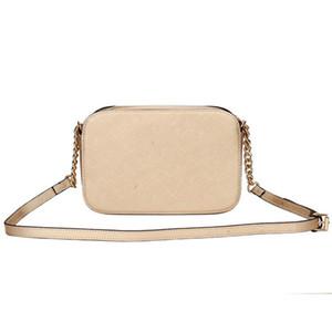 Petit sac carré 2020 mode nouveau sac messager épaule chaîne de motif en croix sac à main des femmes PU cuir de haute qualité