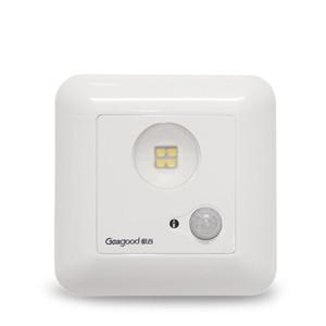 Geagood 1W Infrarot-Sensor-Licht Einstellbare Menschlicher Körper Induktion Decke LED-Lampe Voice Activated Light Control-Deckenleuchte