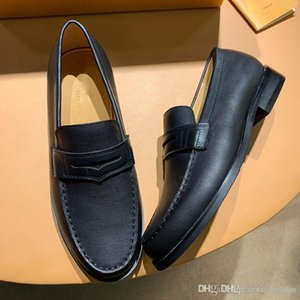 mens liberi di trasporto vestono i pattini di modo Piselli vera pelle tasto del metallo piano scarpa scarpe formazione classica scarpe da corsa casual per uomo