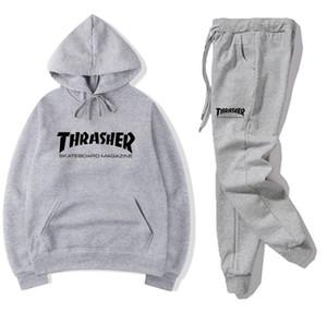 Nuova parte superiore di arrivo del progettista tute Tuta Uomini Lusso Autunno Inverno Mens Jogger Suits Jacket + Pants Set Sporting Completi donna Hip Hop Set