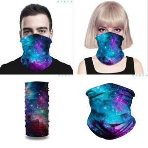 Impressão digital esportes ao ar livre à prova de poeira e isca de inseto máscara multi-funcional impressão de chapéu de impressão mágico da425