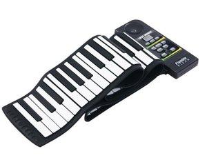 88-touche de piano de pliage piano rouleau main avec la prononciation de haut-parleur