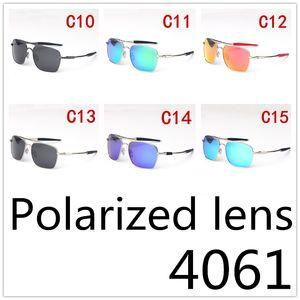 2020 Retro Außenreit polarisiert Sonnenbrille Männer und Frauen Metallrahmen Marke Driving Brillen großes Feld 4061 Brillen