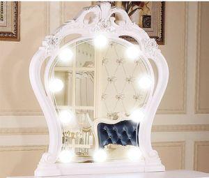 10 Adet Makyaj LED Ayna Işık Makyaj Dim Işıklar Ampul Parlaklık Make Up Işıklar ile Ayarlanabilir Comestics Ayna Işık Setleri