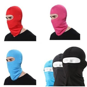Cycling Masks 11 coulors Lycra outdoor riding motorcycle windproof sunscreen dustproof CS masked mask headgear mask free FEDEX TNT