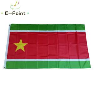 Fransız Guadeloupe Adaları Bayrağı 3 * 5 ft (90cm * 150cm) Polyester Banner Dekorasyon uçan ev bahçe bayrak