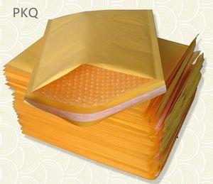 5adet Küçük Boy Kraft Kağıt Hava Kabarcık Zarf Çanta Sarı / Beyaz Renkli Bubble Postaları yastıklı Zarflar 11x13cm / 14x16cm / 15x18cm