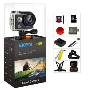 Original 100% EKEN H9   H9R Action camera Ultra HD 4K WiFi 1080P 60fps 2.0 LCD 170D lens Helmet Cam waterproof pro sports camera