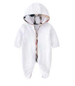 Bebek Tulum Bahar Sonbahar Erkek Bebek Giysileri Yeni Romper Pamuk Yenidoğan Bebek Kız Çocuk Tasarımcı güzel Bebek Tulumlar Giyim Seti