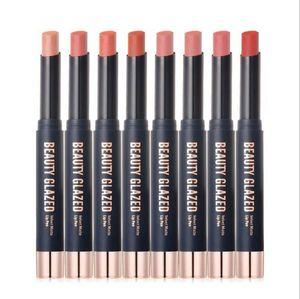 Hot de haute qualité maquillage 8 couleurs Fondu Matte Lip Gloss Rouge à lèvres longue durée Lipgloss Maquiagem Livraison gratuite