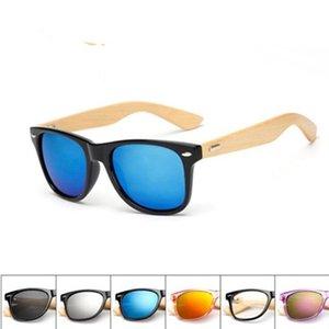 Поляризованные очки Девушки Дизайнерские очки Мода бамбуковые Ноги Модные солнцезащитные очки Открытый езда очки Мода Мальчик должен иметь LXL42Q-1