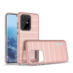 Для LG Stylo 7 5G K92 Samsung A10E A20 / A30 A50 J2 Pure Moto G7 Power Plus E5 SUPRA Круиз Казалогии Чехол Нескользванные полоски Назад