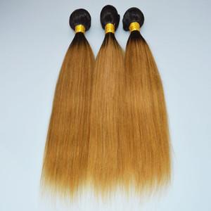 OC 905 Бразильские человеческие волосы девственницы прямой градиент цвета 1b 27 # коричневый Pochette Felicie парики длинные занавески для волос бесплатная доставка