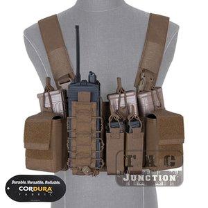 Rig D3CR táctico Pecho con Multipropósito Mag bolsas y Radio de la bolsa, la bolsa de accesorios