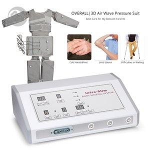 حار بيع السيلوليت آلة الليمفاوية الصرف الهواء ضغط الموجة الدعاوى الأقصى الحرارة بالأشعة تحت الحمراء Pressotherapy الجسم التخسيس