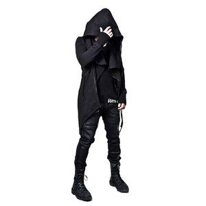 PADEGAO Assassins Creed Casacos Zipper soltos Homens Jaquetas e casacos Punk Estilo Hip Hop Hoodies Casual Sportswear Sweatercoat M-XXL