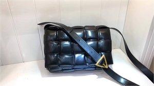 Bag Plaid Wild Woven Bag Pillow Female Square Hand Shoulder CASSETTE Diagonal Take Leather Tofu Single Fvkgu