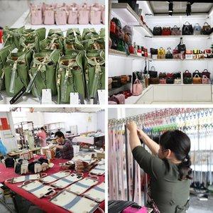 Charm2019 Flor Todos Shiling Mulher Processamento de Processamento Imitar Europeu Internacional Major Suit Couro Genuíno Saco de Marca de Fábrica