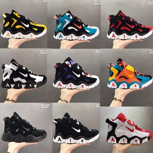 Yeni Geliş Hava Baraj Orta QS Erkek Koşu Ayakkabı Yüksek üst Tuval Casual Sneakers Nefes Ayakkabı Boyut EUR40-47