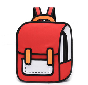 Designer Unisex Cartoon Cartoon Two-dimensional Backpack Luxury Special Personality Style Backpack Student Schoolbags High Quality