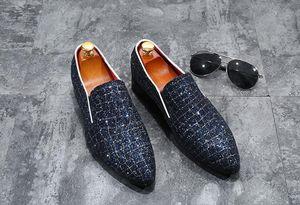 Special Spring leather Comfortable Mens dress shoes Fashion Designer Men Black Business wedding shoes