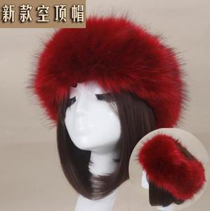30 couleurs pour femmes en fausse fourrure d'hiver Bandeau Femmes de luxe Fashion Head Wrap en peluche Earmuffs Couverture Accessoires cheveux