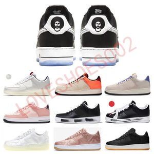 2020 Kith x 1 07 Quartz Rose Colin Kaepernick CK G-Dragon PEACEMINUSONE CLOT True To 7 ACG 07 Hommes Femmes Chaussures 1s Para-bruit