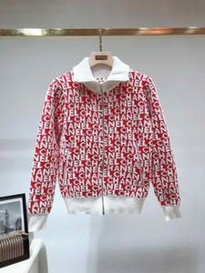 2019 Новый осень куртка сращивания женщин свитер модные женщины топы осень зима куртка досуг кардиган молния женская одежда бесплатная доставка 71