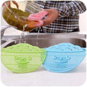 Forme des feuilles de riz Wash Sieve Pois Haricots Nettoyage Gadget riz Passoire la cuisine laver l'appareil de cuisson des outils