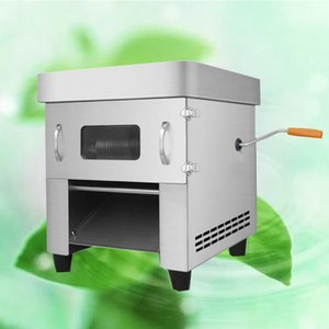 2020 Commercial Electric Meat Slicer Manuel 850W Cutter automatique viande en acier inoxydable micing machine légumes Slicer