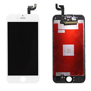Negro Display LCD blanco para el iPhone 6s piezas de alta calidad de la pantalla táctil LCD digitalizador Asamblea completa Reparación envío libre