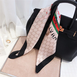 Fashion luxury brand women's wear small square top designers spring and summer high quality versatile small square scarf scarf 50*50cm
