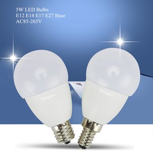 Newest G45 5W LED Light Bulb with E12 E14 E17 E27 Lamp Holders with SMD2835 LEDs