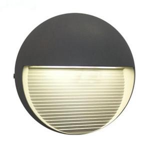 110V 220V 7W principali moderne lampada da parete esterna luci murali interne per Lampadas cortile semplici led lampe luci portico impermeabili