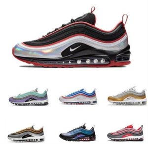 Airs Men Maxes Shoes 97 Undefeated x OG Maxes Shoes Sneakers Women Airs Sports Outdoor Maxes Shoes Black 97 White Free Drop Shipping
