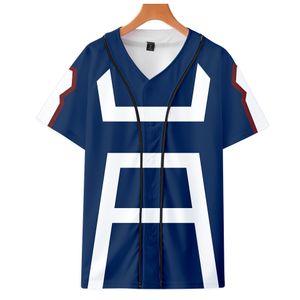 MY HERO ACADEMIA 2019 novo best selling roupas jaqueta de outono de manga curta de beisebol unisex amantes com os pais fáceis de igualar