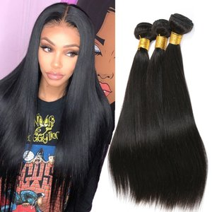 Mink brasilianische gerade Menschenhaar 3 Bundles Angebote Körper-Wellen-Raw Virgin Indian Hair Extensions peruanischer Menschenhaar-Bundles Malaysian Weave