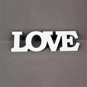 화이트 사랑 편지 나무 로맨틱 빈티지 독립 구조로 서있는 웨딩 홈 테이블 장식 결혼 사랑 웨딩 로그인 사진 소품