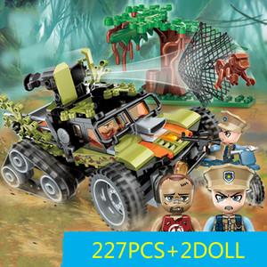 Building Block Toys City Police Series - Menino Brinquedos especiais da polícia para esquadra de polícia