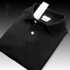 Lacoste Nueva 19SS camisa clásico de alta calidad cocodrilos Polo Francia de manga larga Hombres Sólido Algodón Polo Homme camisetas para hombre Polos VS10185