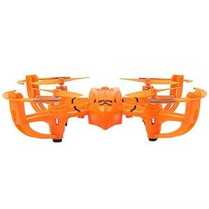 Mini Drone Electric / RC Aircraft elétrica controle remoto Diy Headless Rc Quadrotor montagem do enigma 3D Rotação avião-robô com luzes