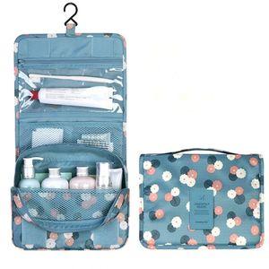مجموعة السفر جودة عالية للماء المحمولة أدوات الزينة حقيبة المرأة حقائب التجميل المنظم الحقيبة معلقة غسل (التجزئة)