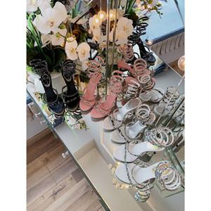 2019 nuovi net tacchi a spillo rosso scarpe di alta qualità ragazza francese selvaggia damigella d'onore scarpe da sposa vento fata con scatola